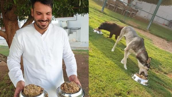 Σεφ μετατρέπει τα απομεινάρια του ξενοδοχείου 5 αστέρων σε φαγητό για καταφύγια
