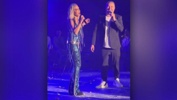 Βίσση - Ρέμος στο Μονακό: Τραγουδούν on stage μπροστά στον πρίγκιπα Αλβέρτο