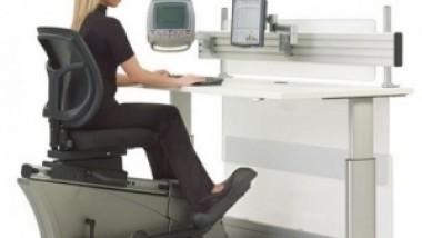 Κοσμοtechnology: Elliptical Machine Office Desk