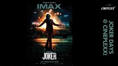 Η νέα ταινία Joker έρχεται στα Cineplexx με συλλεκτικά δώρα