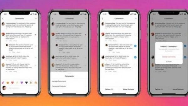 Κοσμοtechnology: Instagram - Μαζική διαγραφή σχολίων και Pinned Comments