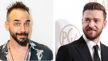 Ο Πάνος Μουζουράκης πήρε συνέντευξη απ' τον Justin Timberlake!