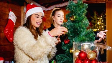Στολίσαμε και χαρίσαμε ένα Χριστουγεννιάτικο δέντρο με την Ειρήνη Παπαδοπούλου