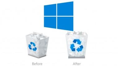 Κοσμοtechnology: Aλλάζει ο 'Κάδος Ανακύκλωσης' και άλλα βασικά εικονίδια των Windows 10