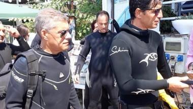 Ο Σάκης Ρουβάς εγκαινίασε το υποβρύχιο μουσείο Αλοννήσου