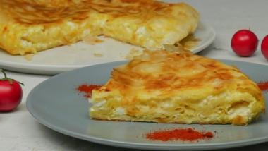 Η συνταγή της ημέρας: Γρήγορη τυρόπιτα στο τηγάνι